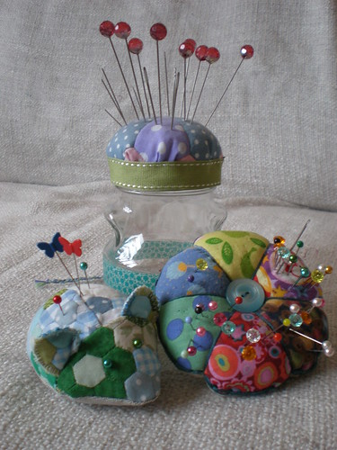 Patchwork Pincushions 2