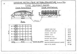 Hangar type Jeumont-Daydé