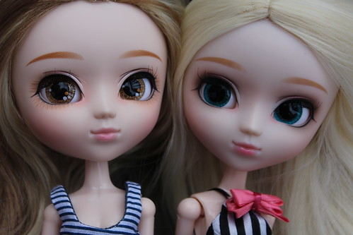 Face up Comparison: Kiyomi & Ally