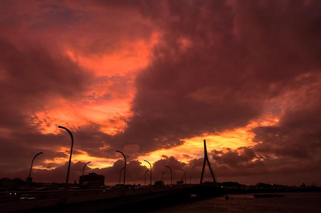 Orange Sunset 2013/10/4 | Okinawa