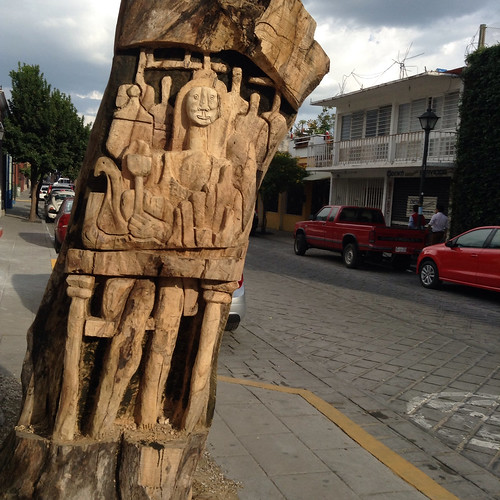 Tree Carving @ Oaxaca 10.2013