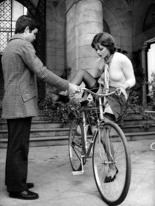 Tina Aumont with Alessandro Momo from Malizia (1973)
