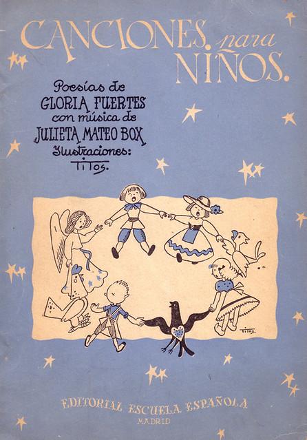 Cubierta de Canciones para niños