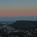 Moonrise over Golden, CO by lltownley