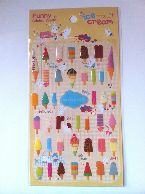 Ice lollies stickers