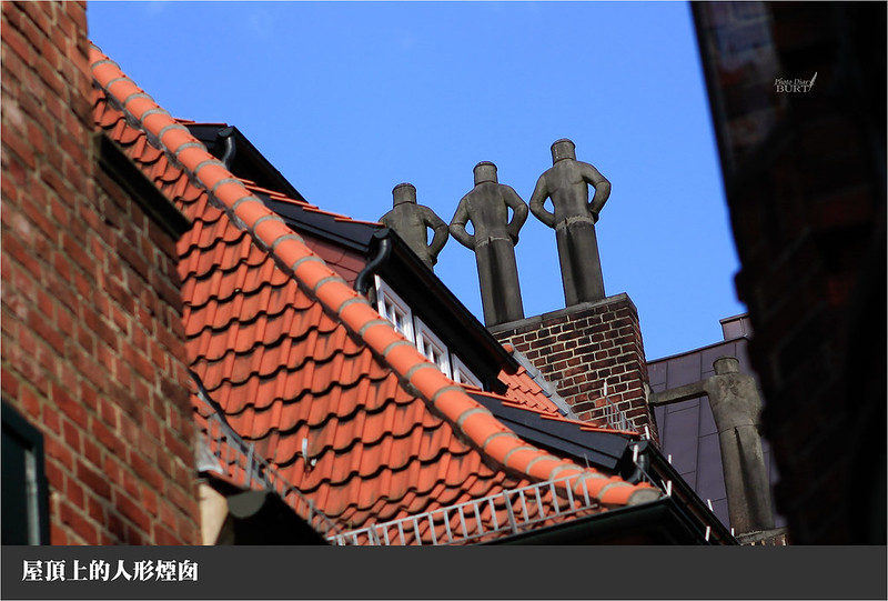 屋頂上的人形煙囪