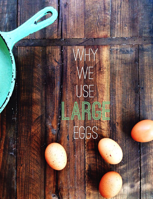 Why We Use Large Eggs In Baking