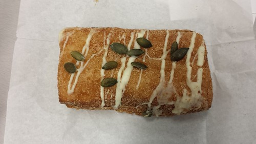 pumpkin cream cheese doughssaint