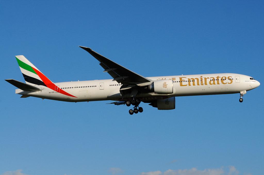 A6-EBQ - B77W - Emirates