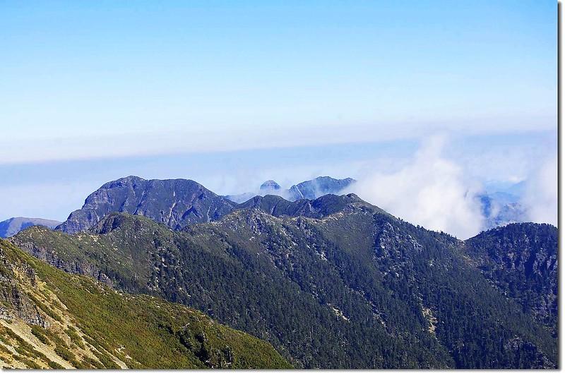聖稜線(From 雪主頂) 1