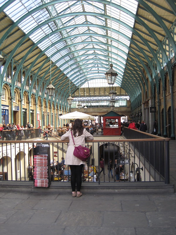 Inside Covent Garden, London