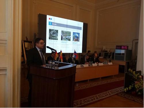 COMSA comparte en Rusia su experiencia en proyectos de alta velocidad