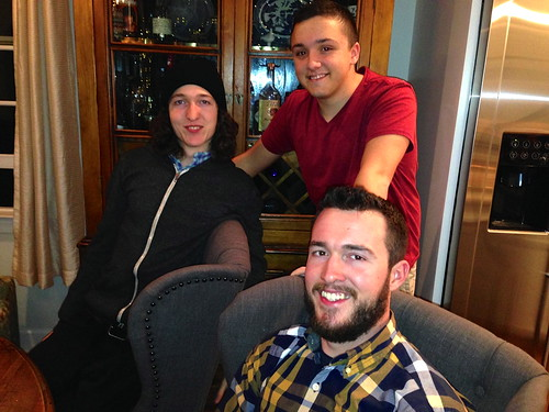 Brothers and Nephew on Thanksgiving