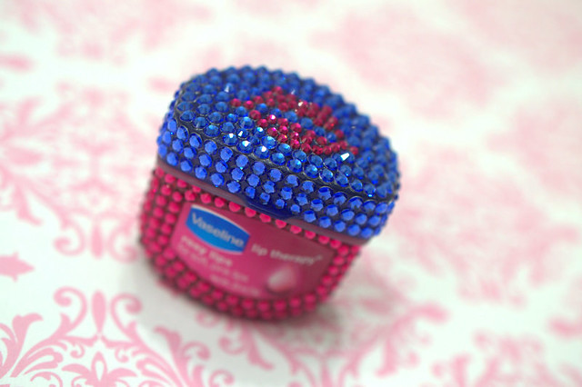 Bejeweled Vaseline Lip Therapy