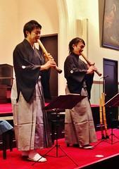 Shakuhachi duo