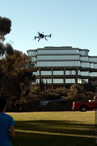 3 D Robotics UAV flyover   Connection & Experience Break   TEDxS
