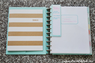 Martha Stewart Disc Bound Notebook