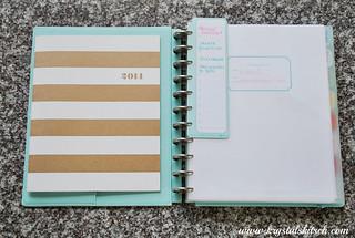 Martha Stewart Disc Bound Notebook