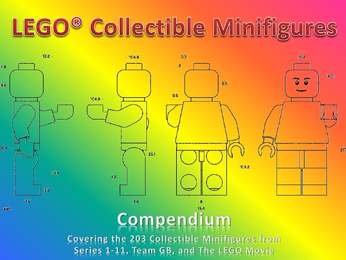 LEGO Collectible Minifigures Compendium 4th Edition