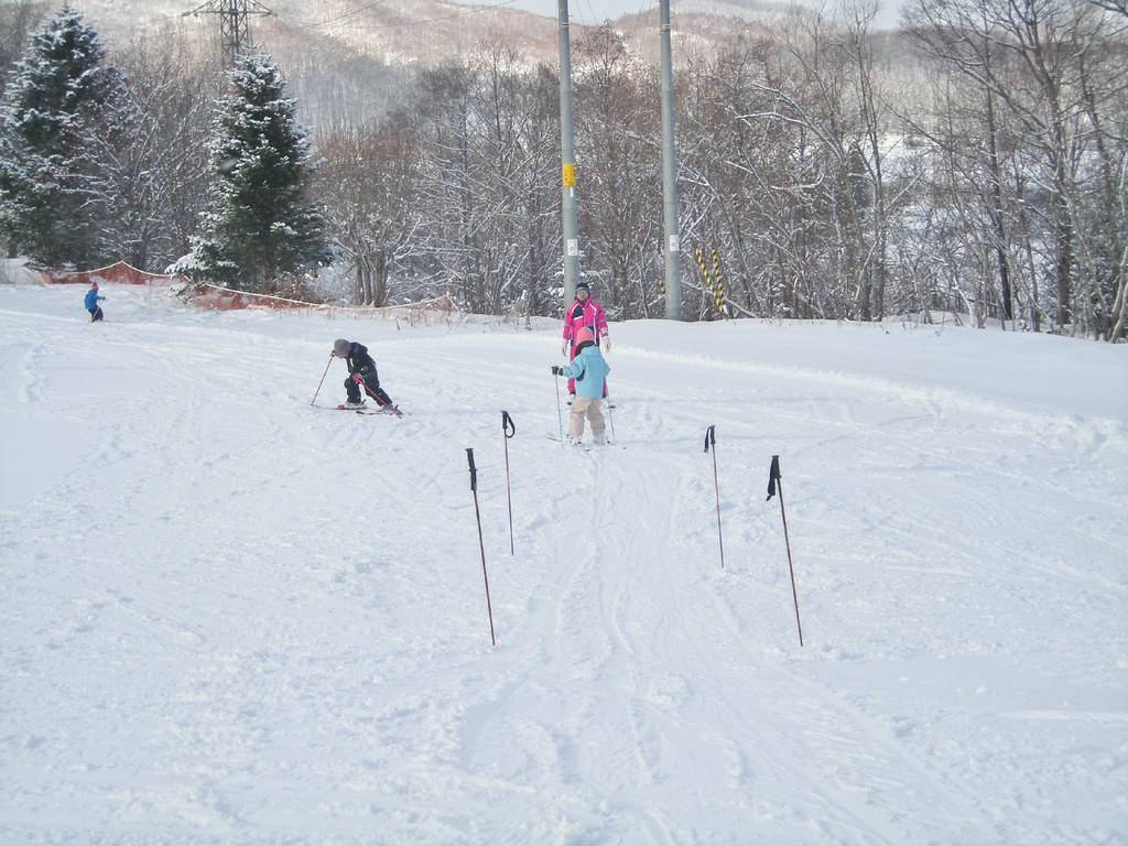 初心者スキー教室。1 (1)