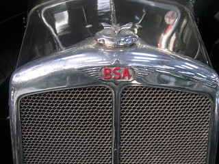 BSA car badge