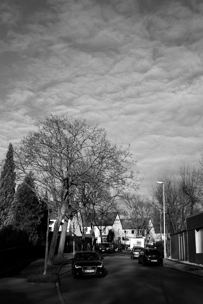 winter sky broken