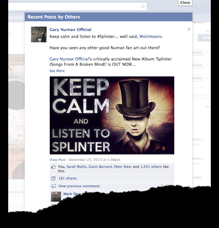numan-splinter-facebook