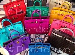 Birkin Hermès - Blondie Luxe
