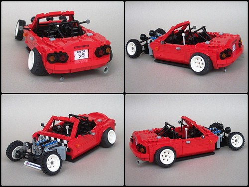 1994 Mazda MX-5 (NA8CE) hot rod