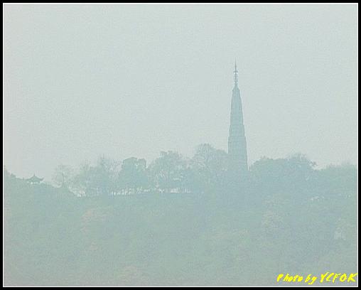 杭州 西湖 (其他景點) - 004 (古湧金門附近景點看杭州地標 保淑塔)