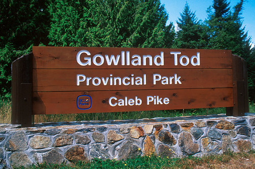 Gowlland Tod Park, Saanich Inlet, Highlands, Victoria, Vancouver Island, British Columbia, Canada