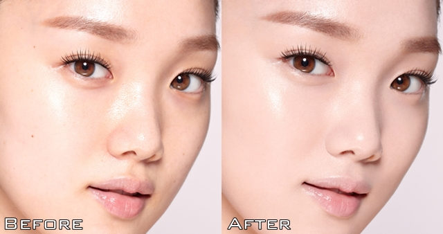 laneige bb cushion before and after
