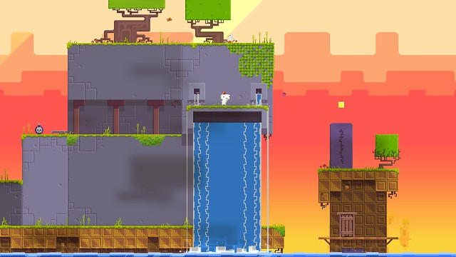 FEZ on PS4, PS3 and PS Vita