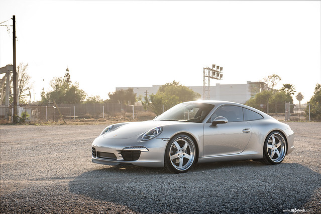 "991 Carrera - Brushed Polished 21"" F130"