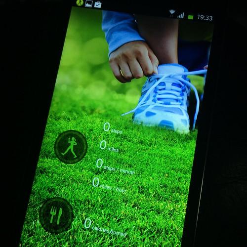 S Health ก็อปปี้บน Samsung Galaxy Note 3 ก็อปปี้