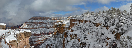 Grand Canyon National Park: Winter Storm from Mather Point (Feb. 2011) #0116