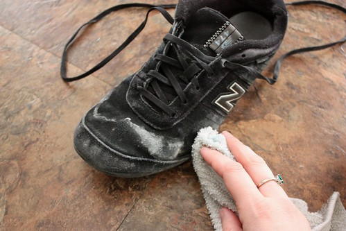 Cleaning salt stains off suede sneakers and boots life How to get stains out of white leather