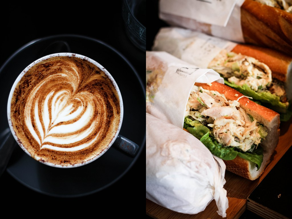 Melbourne Cafes: Proud Mary's coffee & sandwich