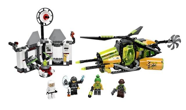 LEGO Ultra Agents 70163 - Toxikita's Toxic Meltdown