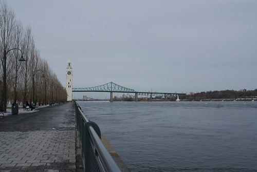 Towards the Jacques Cartier Bridge