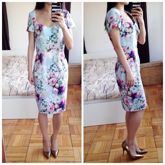 asos floral dress 1