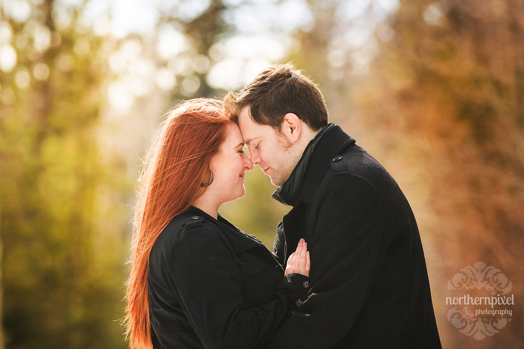 Michelle & Chris - Engagement Session in Prince George BC