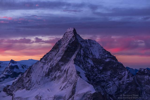 Matterhorn from southern crest of Dent Blanche - the second shot