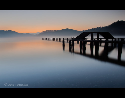 longexposure japan sunrise jetty naganoprefecture nojiri nojiriko lakenojiri