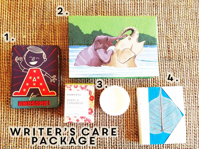 writer's care package giveaway
