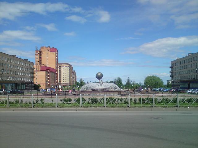 Lomonosov: fountain // Ломоносов: фонтан