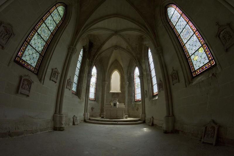 Chateau de la Mothe-Chandeniers chapel 9