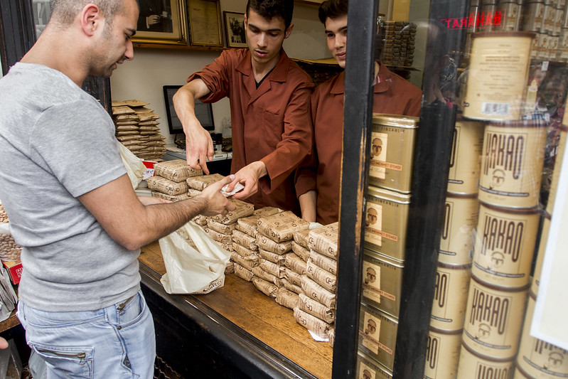 Turkish Coffee - Spice Bazaar in Istanbul