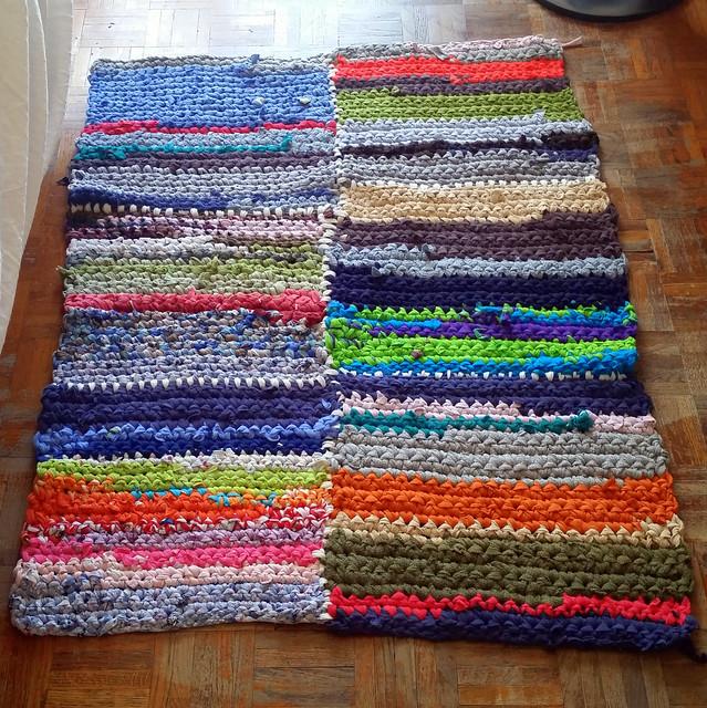 Beautiful per ora il tappeto cos dovr ancora crescere molto ma al momento ho terminato la - Tappeti anallergici ...