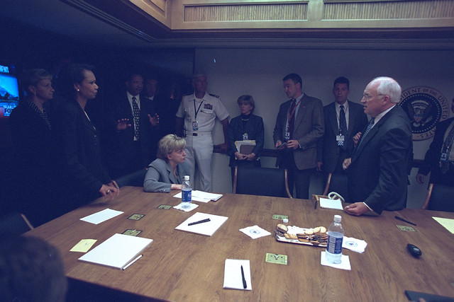 Vice President Cheney on September 11, 2001